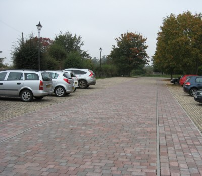 New surface for Fairford's FREE Car Park